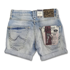 BOY'S COOL 73 SHORTS | PETROL-(2Y-16Y)