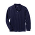 BOY'S FULL SLEEVE PIQUE POLO | GAP-NAVY (4Y-16Y)