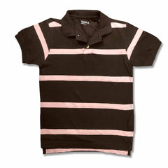 BOY'S STRIPPED PIQUE POLO | GAP-(4Y-16Y)