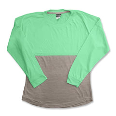 LADIES 2 TONE SOFT TEE | POPULAR SPORTS