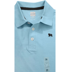 BOY'S LION LOGO POLO BY OLD NAVY- SKY BLUE (1-5YRS)