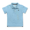 BOY'S LION LOGO POLO BY ON- SKY BLUE (1-5YRS)