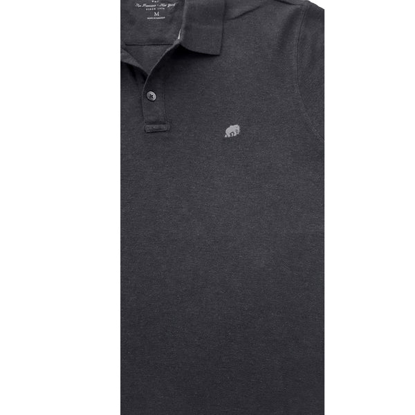 MEN'S CHARCOAL POLO | BANANA REPUBLIC
