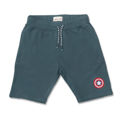 BOY'S CAPTAIN AMERICA SHORTS | UNIT KIDS - (18M-16Y)