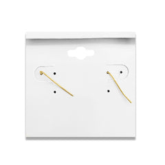 SIMPLE ROUND STUD EARRINGS