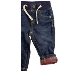 BOY'S FLANNEL-LINED SLIM JEANS | GAP-(3M-24M)