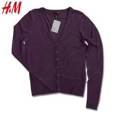 LADIES OXFORD TEXTURE CARDIGAN | H&M