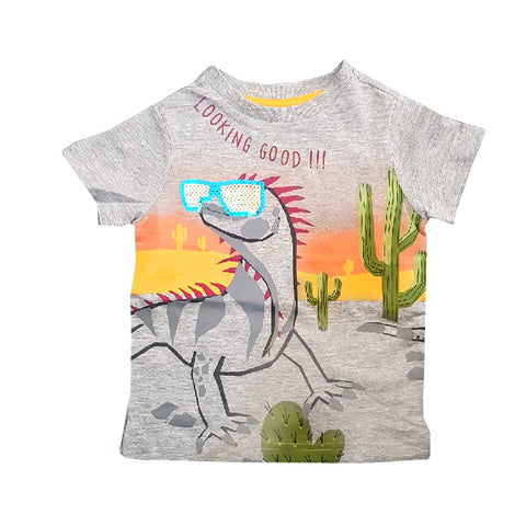 BOY'S LOOKING GOOD T-SHIRT | A&F-(12M-4Y)