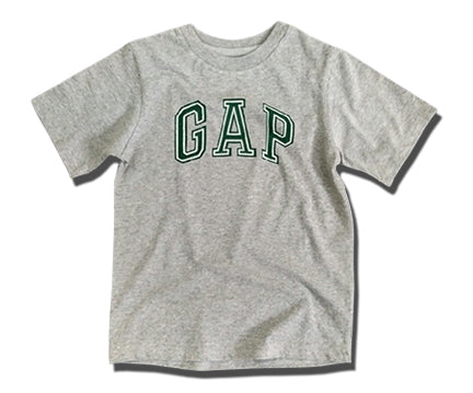 BOYS SIGNATURE GAP PRINT TEE (4-13YRS) GREY