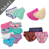 GIRL'S PACK OF 2 PANTIES | OKIE DOKIE-(2Y-14Y)