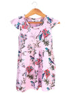GIRL'S FLORAL SLIM FIT FROCK | H&M-(3Y-10Y)