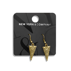 TRIANGLE SHAPE NEW STYLE GOLDEN EARING | C&A