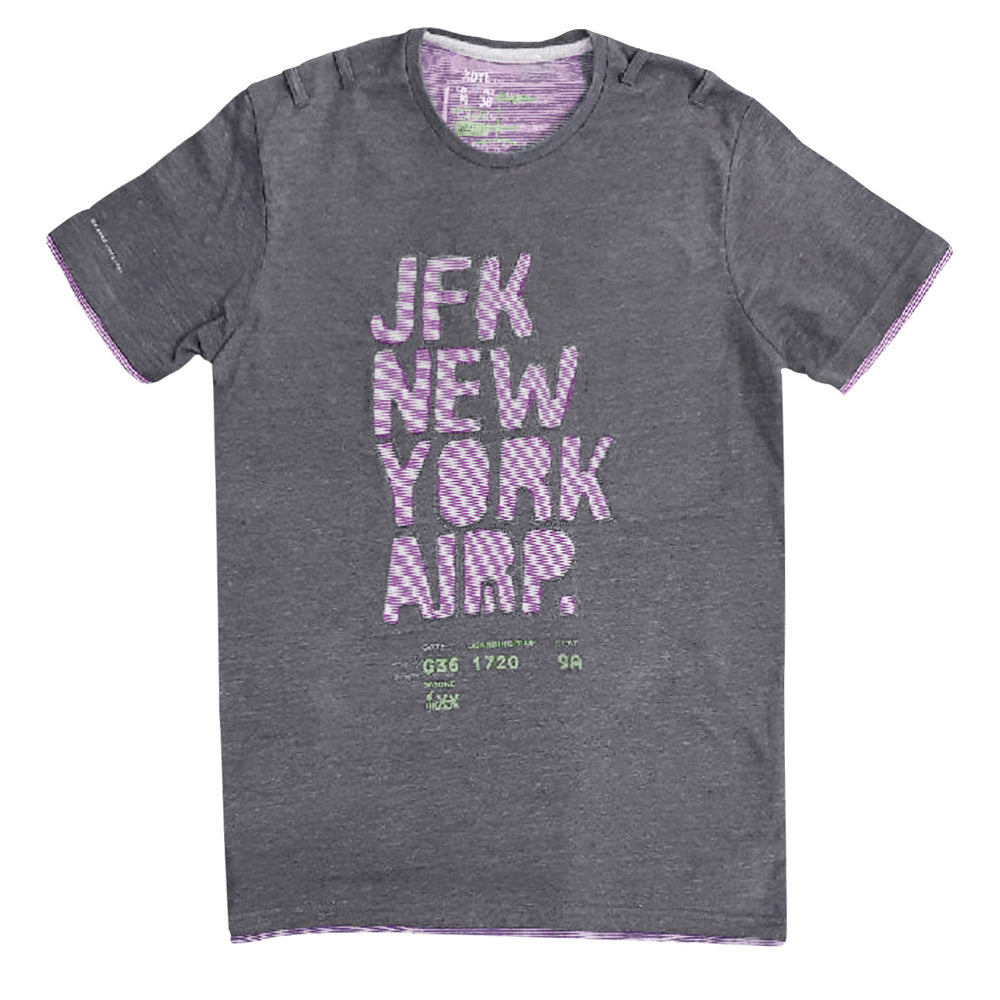 MEN'S JFK NY T-SHIRT | XDYE