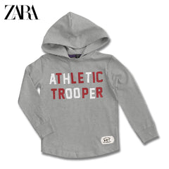 BOY'S ATHLETIC TROOPER HOOD | ZARA-(4Y-14Y)