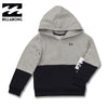 BOY'S CLASSIC BILLABONG HOOD – GREY/BLACK (1-16)Y
