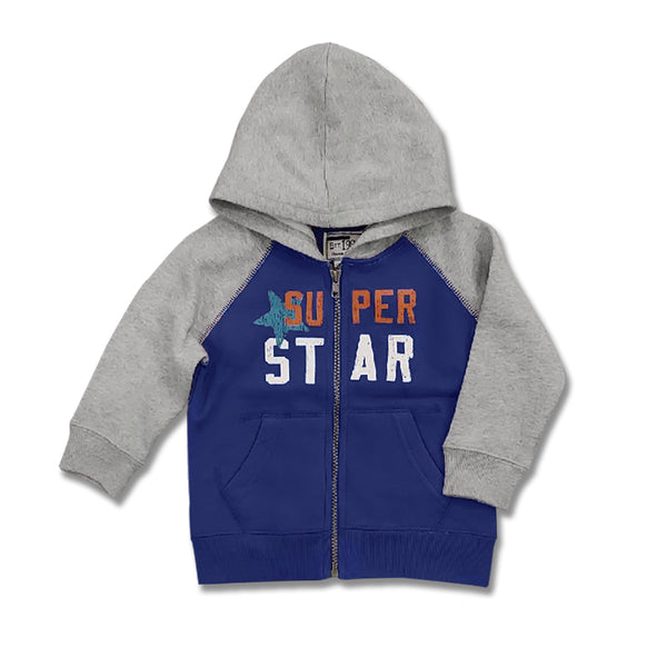 BOYS SUPER STAR HOOD BY CHILDREN PLACE (6M-5Y)