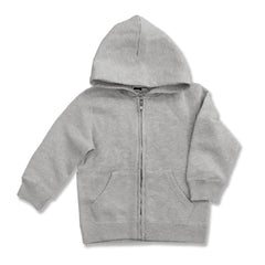 UNISEX CHILDREN PLACE ZIPPER HOOD-GREY(4-14YRS)