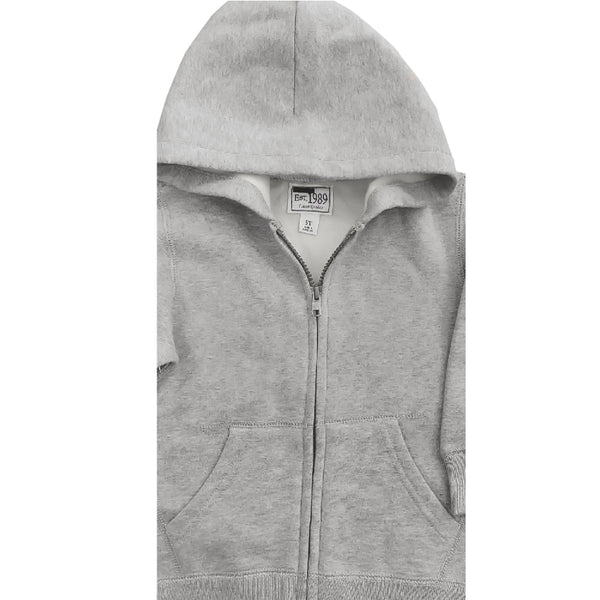 UNISEX CHILDREN PLACE HOOD-GREY(6M-4YEARS)