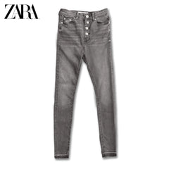 LADIES HIGH RISE JEANS | ZARA