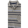 BOY'S GRAY STRIPE POLO | ON-(6M-5Y)