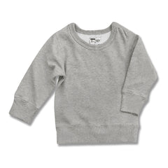 UNISEX FULL SLEEVE SWEAT SHIRT BY CHILDREN PLACE-GREY-(6M-4YEARS)