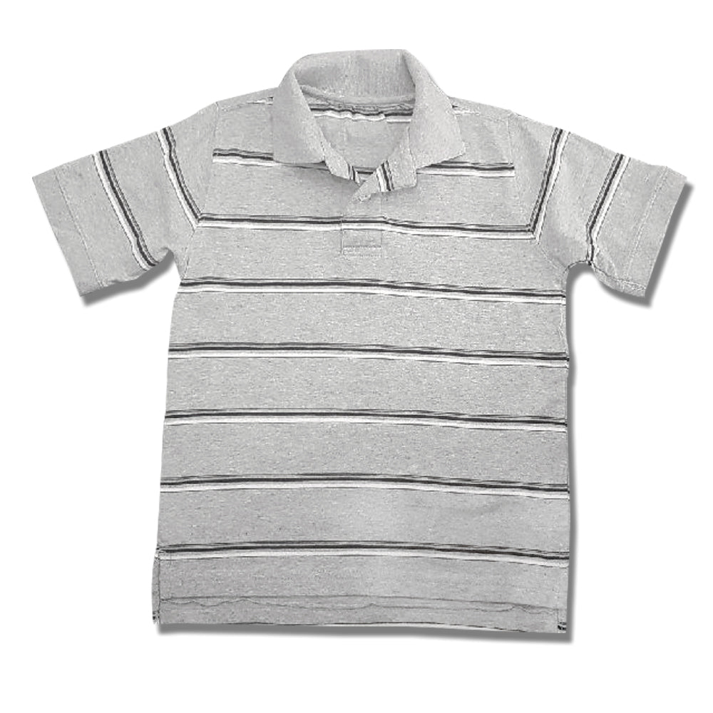 BOY'S SUEDED JERESY POLO | FADED GLORY-(4Y-13Y)
