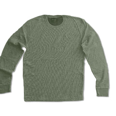 MEN'S ELBOW PATCH GREEN SWEATER | FOOT LOCKER