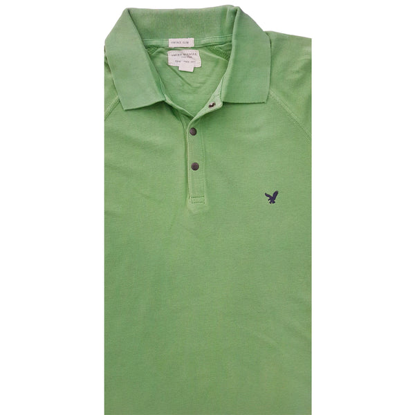 MENS SIGNATURE EMB POLO | AMERICAN EAGLE