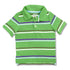 BOY'S GREEN STRIPE POLO | OLD NAVY-(12M-5Y)