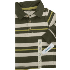 BOY'S 3 COLOR STRIPE POLO | OLD NAVY-(6M-5Y)