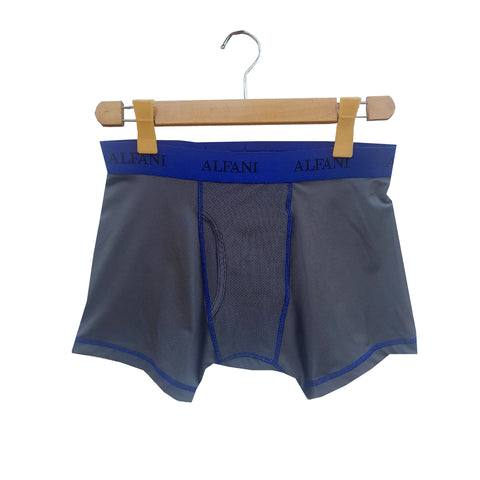 MEN'S MASH BOXER | GREY | ALFANI