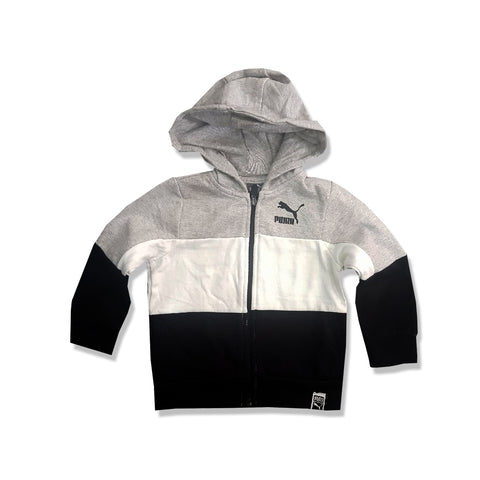 BOY'S GRAPHIC LOGO HOOD | PUMA-(2Y-20Y)