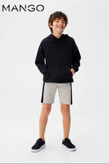 BOY'S SIDE BAND BERMUDA SHORTS | MANGO-(5Y-14Y)