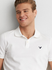 MENS POLO S/S (SIGNATURE EMB )AMERICAN EAGLE