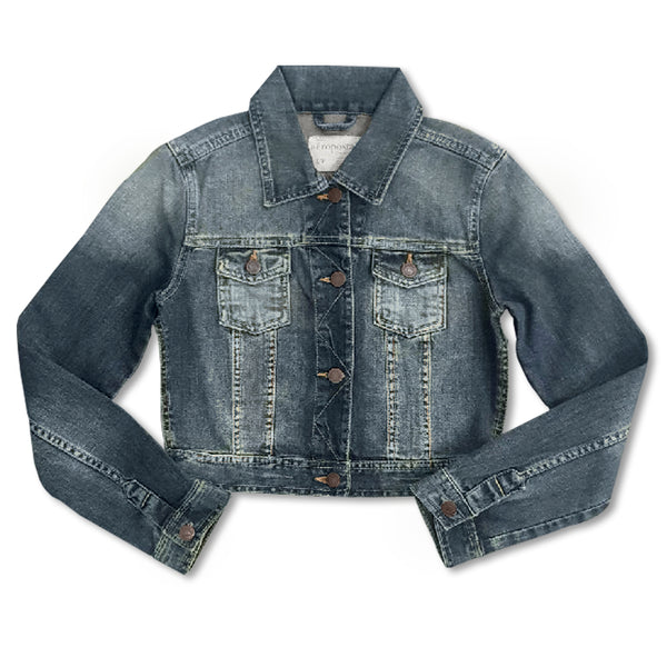 LADIES MEDIUM WASH DENIM JACKET | AEROPOSTALE