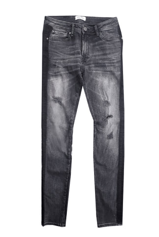MEN'S 2 TONE SKINNY FIT JEANS | JACK & JONES