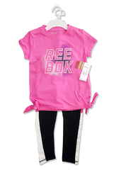 GIRL'S PRINTED SET | REEBOK-(3Y-10Y)