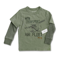 BOY'S AIR FLEET TEE | GAP-(12M-5Y)