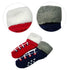 BOY'S PACK OF 3 VELVET INNER ASSORTED SOCKS | MARKHOR-(0M-6Y)