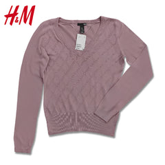 LADIES OXFORD TEXTURE SWEATER | H&M