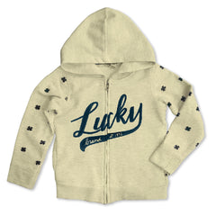 GIRL' S LUCKY HOODIE | LUCKY BRAND-(6Y-14Y)
