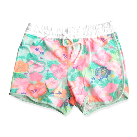 GIRL'S FLORAL PRINTED SHORT | F&F-(4Y-9Y)