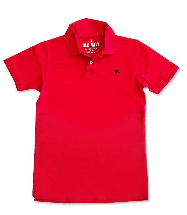 MENS EMBRO LOGO POLO|OLD NAVY