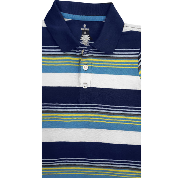 BOY'S MULTI STRIPE POLO | ON
