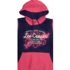LADIES PRINTED HOODIE | LEE COOPER