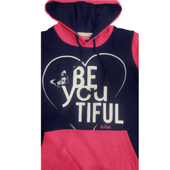 LADIES SPELLED PRINTED HOODIE | LEE COOPER