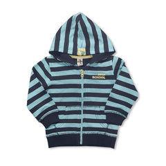 BOY'S STRIPE NEW SCHOOL HOOD | ZARA