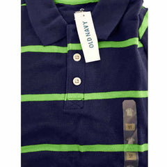 BOY'S NAVY STRIPE POLO | OLD NAVY
