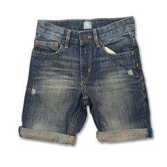 BOY'S RIPPED DENIM SHORT | GAP