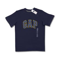 BOY'S TEE GP SIGNATURE APPLIQUE 4-16 YRS-BLUE